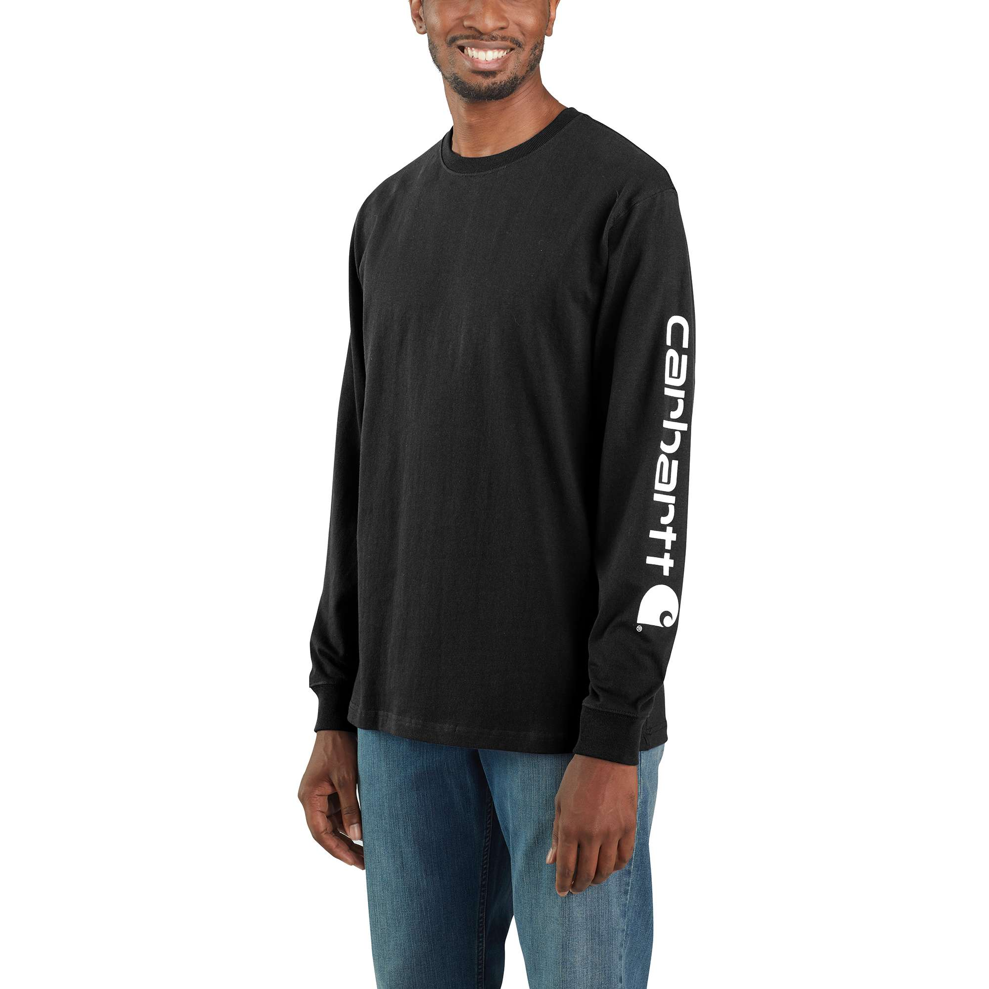 Workwear Long-Sleeve Graphic Logo T-Shirt