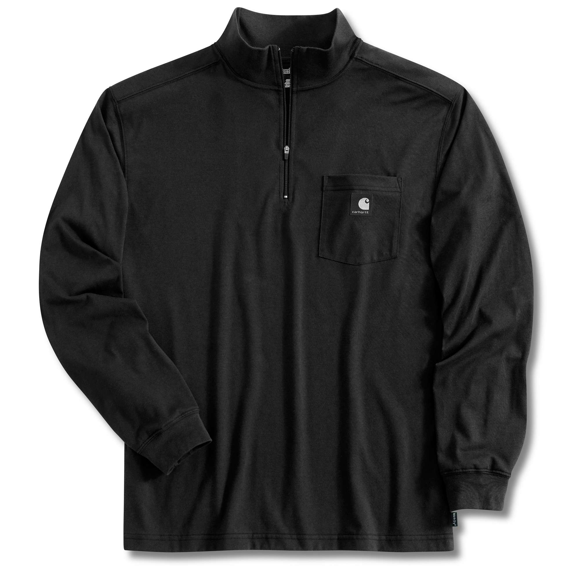 Carhartt Long Sleeve Work-Dry Quarter-Zip Mock