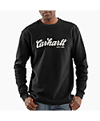 Men's  Long Sleeve, Textured-Knit Graphic Crewneck