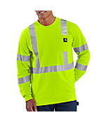 Men's  High-Visibility Class 3 Long Sleeve Work-Dry