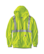 Men's  High-Visibility Class 2 Midweight Hooded Zip
