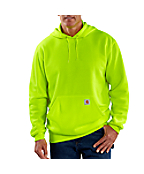 Men's  Color Enhanced Hooded Pullover Sweatshirt