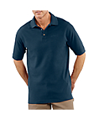 Men's Pique-Knit Short-Sleeve Polo Shirt