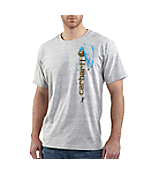 Men's Fishing Short-Sleeve Graphic T-Shirt