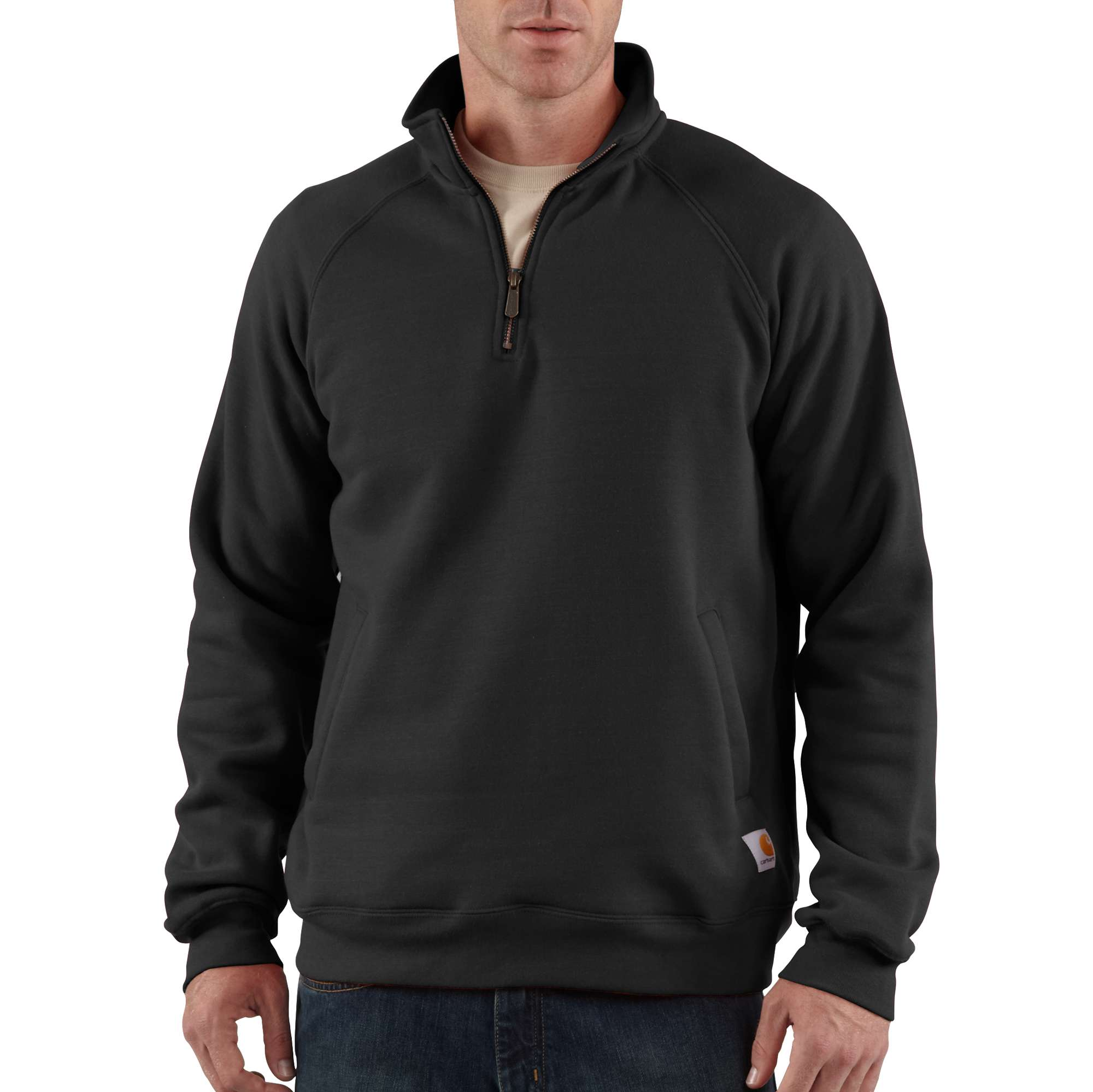 Carhartt Midweight Quarter-zip Mock-neck Sweatshirt
