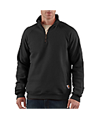 Men's Midweight Quarter-Zip Mock-Neck Sweatshirt
