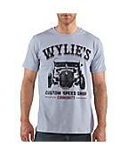 Wylie's Speed Shop Graphic Short-Sleeve T-Shirt