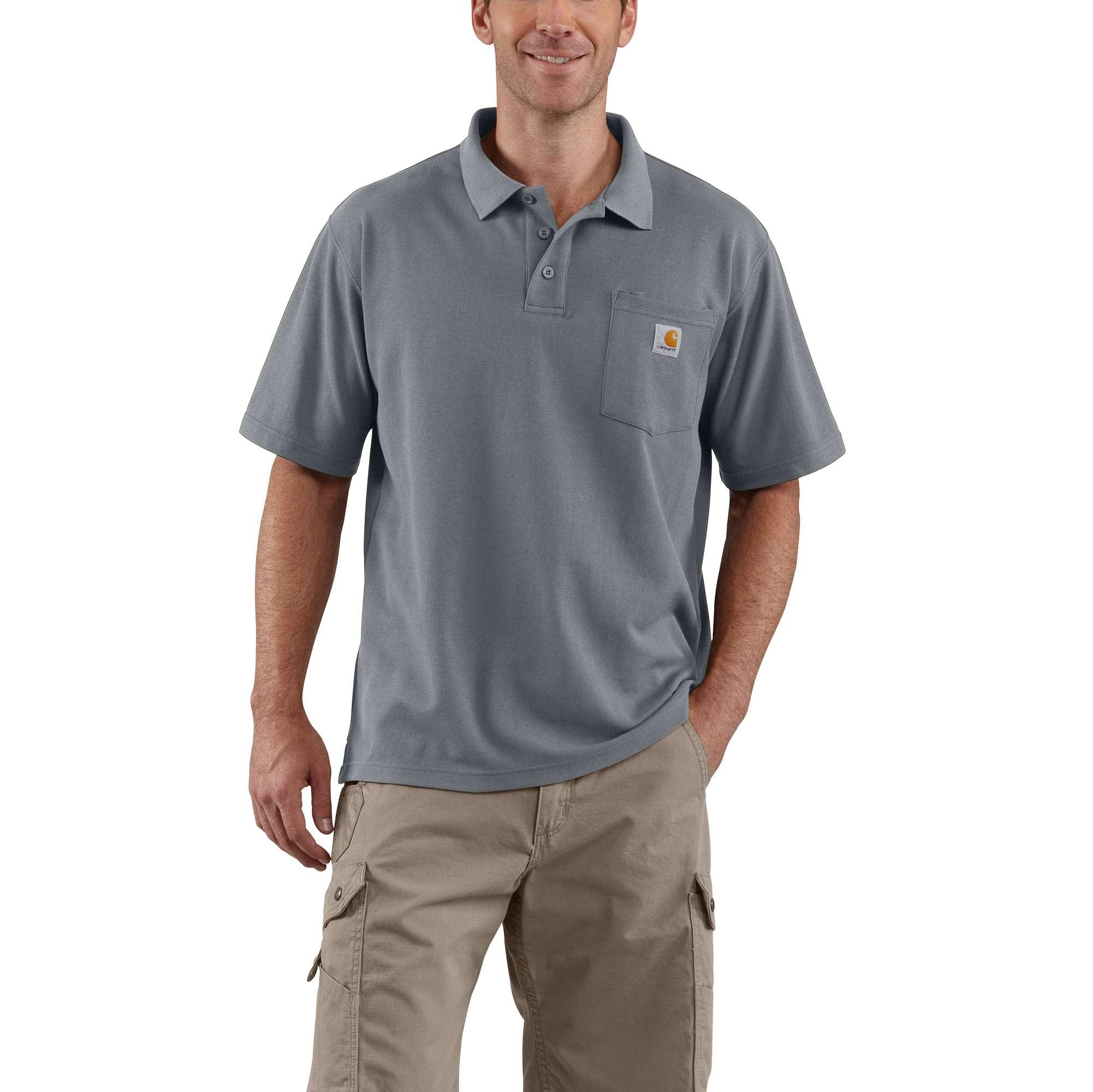 Carhartt Contractor's Work Pocket Polo