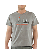 Mountains Moon Short-Sleeve Graphic T-Shirt