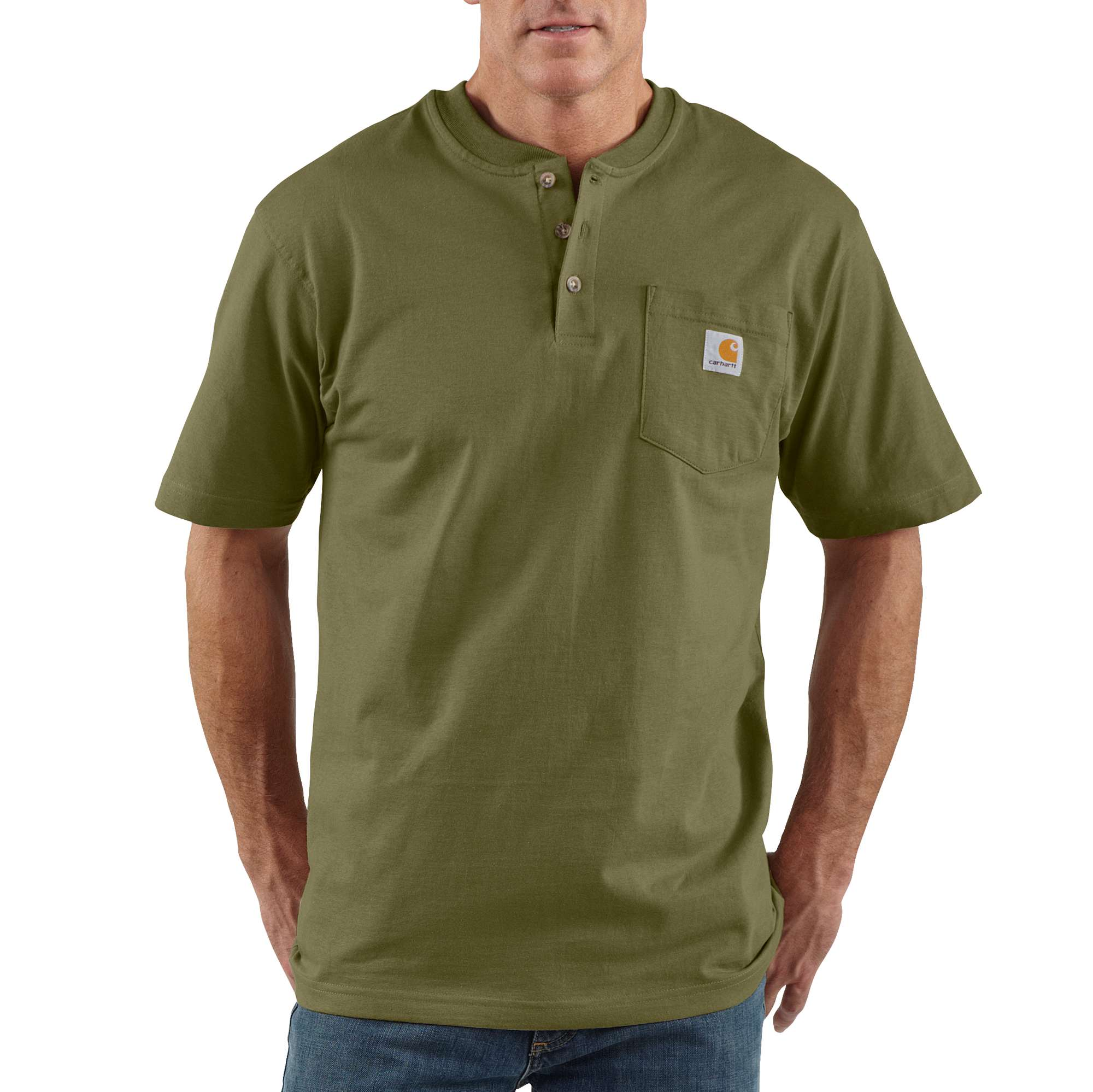 Carhartt Workwear Short-Sleeve Henley T-Shirt