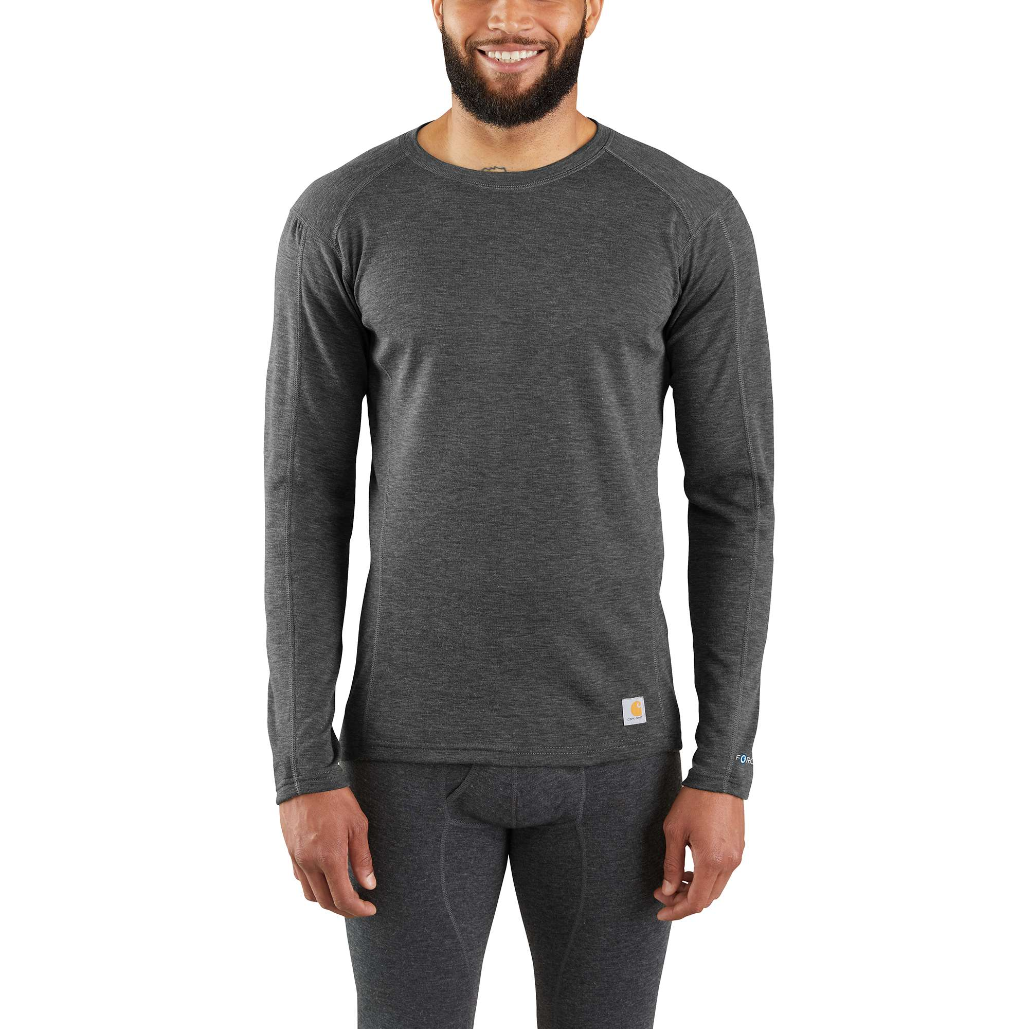 Carhartt Base Force Heavyweight Poly-Wool Crew (No Pocket)