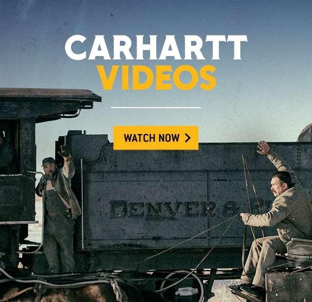 carhartt videos. watch now