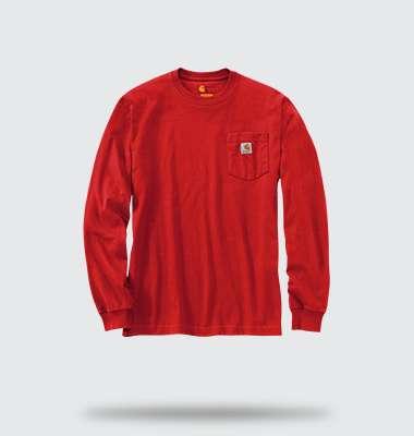 Long Sleeve Workwear Pocket T-shirt, shop now