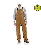 Men'PDuck Bib Overall/Unlined
