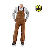 Men'PSandstone Bib Overall/Unlined