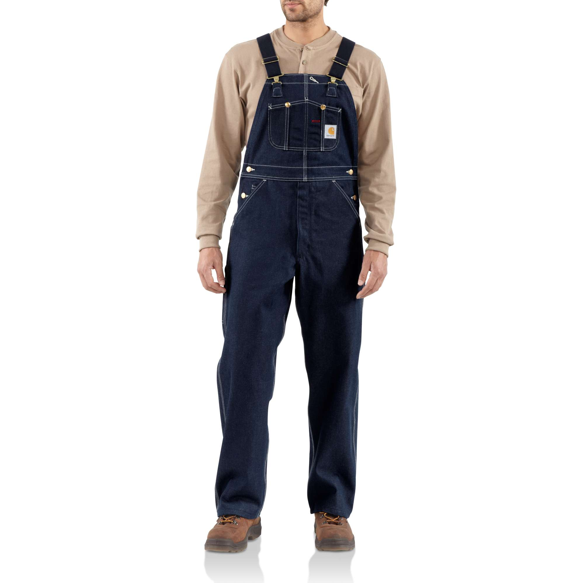 Carhartt Men Denim Bib Overall - Unlined | Carhartt