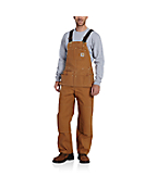 Men's  Duck Carpenter Bib Overall/Unlined