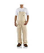Men's  Drill Carpenter Bib Overall/Unlined