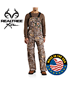 Men's Realtree Xtra® Quilt-Lined Camo Bib Overall