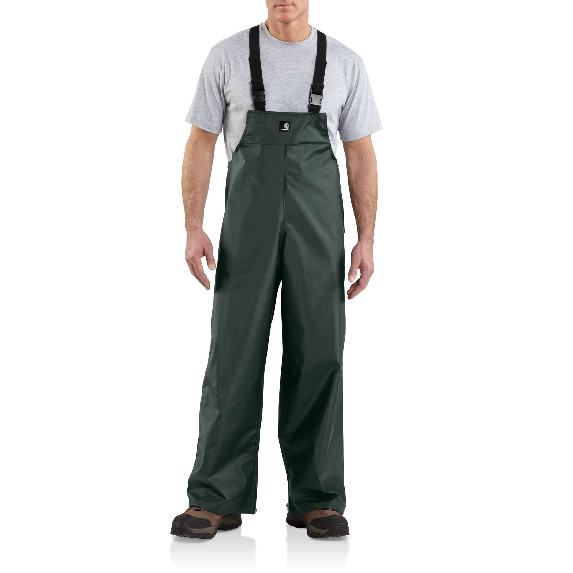 photo: Carhartt Lightweight PVC Rain Bib