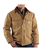 Men's Naturally Worn Duck Traditional Coat/Arctic Quilt-Lined