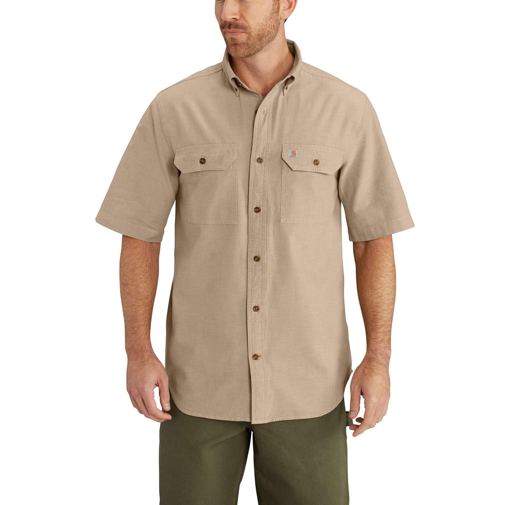 Carhartt Fort Short Sleeve Chambray Shirt