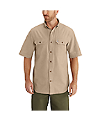 Men's Short-Sleeve Chambray Shirt