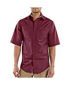 Men's Short-Sleeve Canvas Tradesmen Shirt