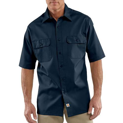 photo: Carhartt Short-Sleeve Twill Work Shirt hiking shirt