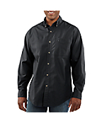 Men's Long-Sleeve Solid Shirt