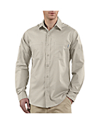 Men's Long-Sleeve Lightweight Cotton Shirt