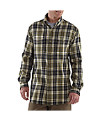 Men's Midweight Flannel Plaid Shirt