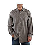 Men's Long-Sleeve Lightweight Plaid Shirt