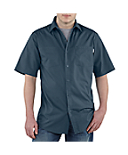 Men's Short-Sleeve Lightweight Woven Shirt