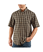 Men's Short-Sleeve Classic Plaid Shirt