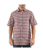 Men's Lightweight Plaid Short-Sleeve Shirt