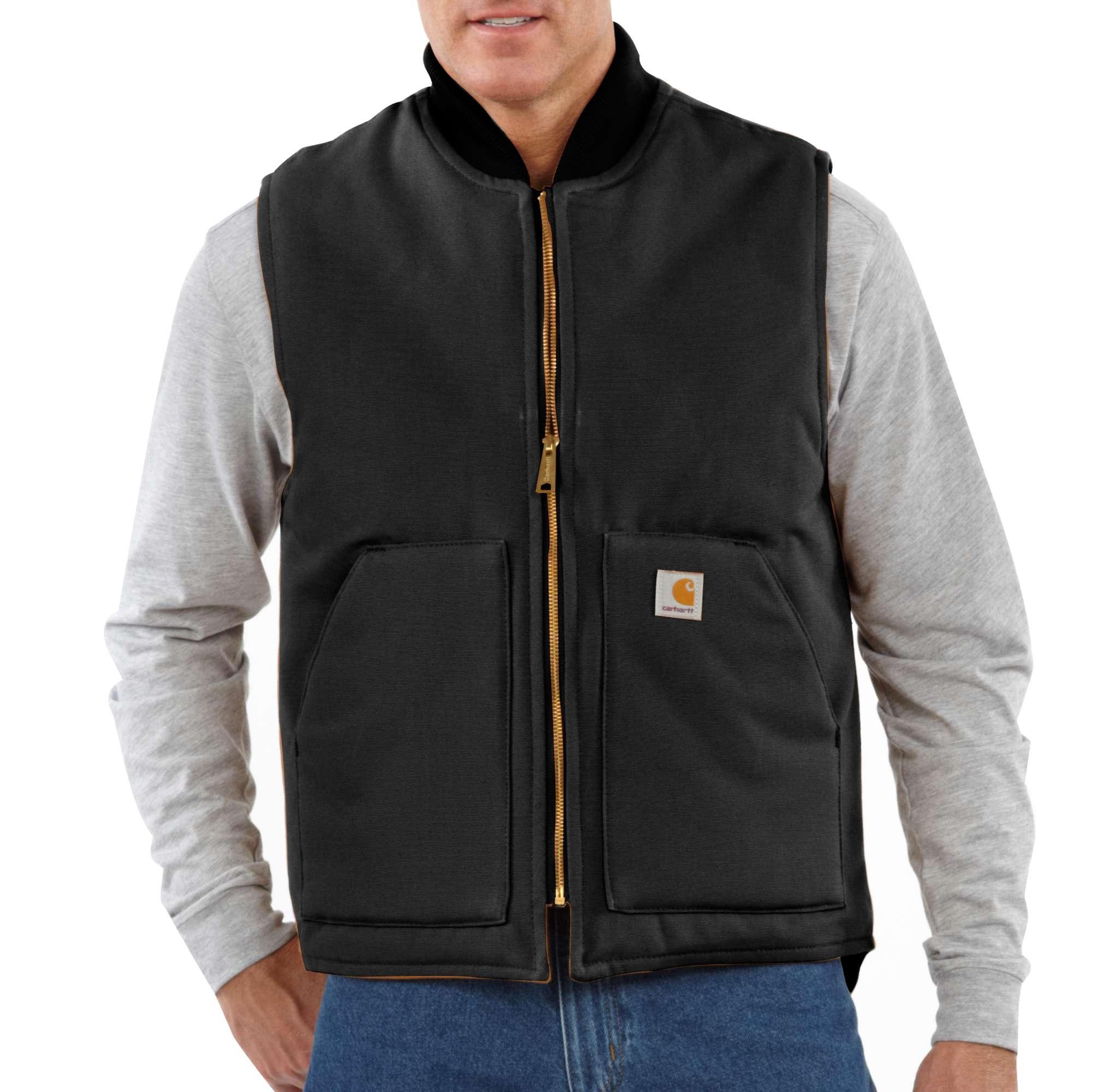Carhartt Duck Vest / Arctic-Quilt Lined