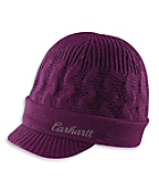 Women's Knit Visor Hat