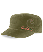 Women's Corduroy Military Cap