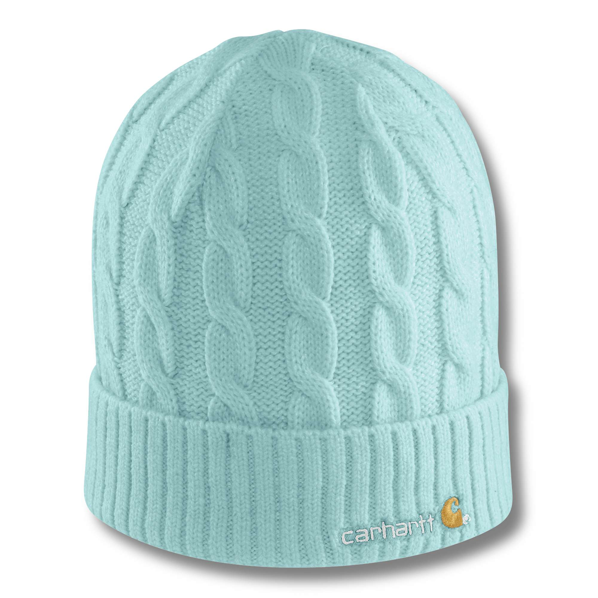 photo: Carhartt Cable Knit Hat winter hat
