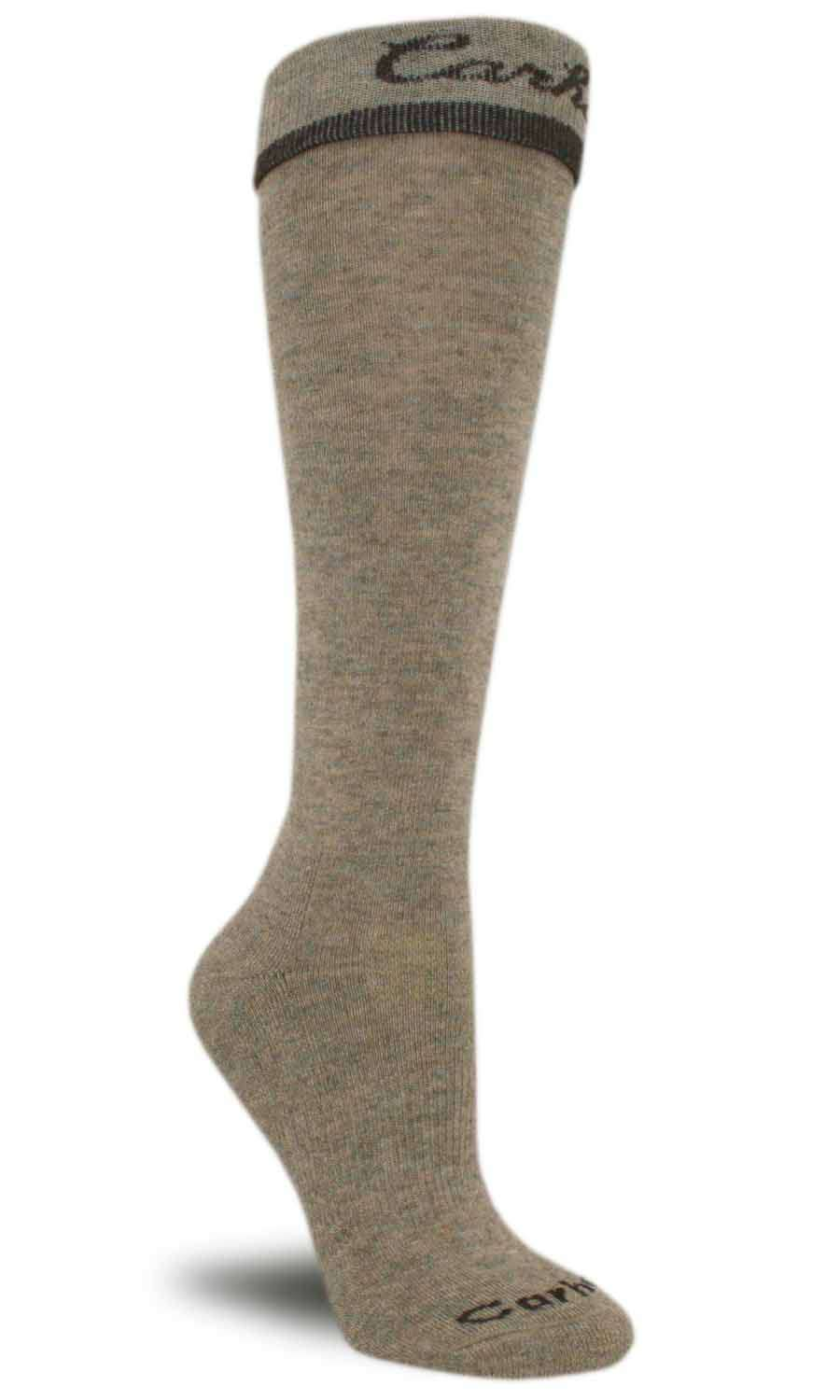 photo: Carhartt Work-Dry Solid Turn Cuff Knee High Sock hiking/backpacking sock