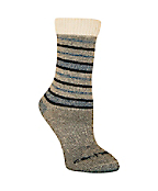 Women's Sweater Top Tonal-Pattern Wool Boot Sock