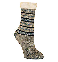 Women�s Sweater Top Tonal-Pattern Wool Boot Sock