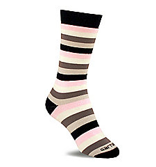 Women's Vibrant Stripe Boot Sock