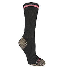 Women's Steel-Toe Crew Sock