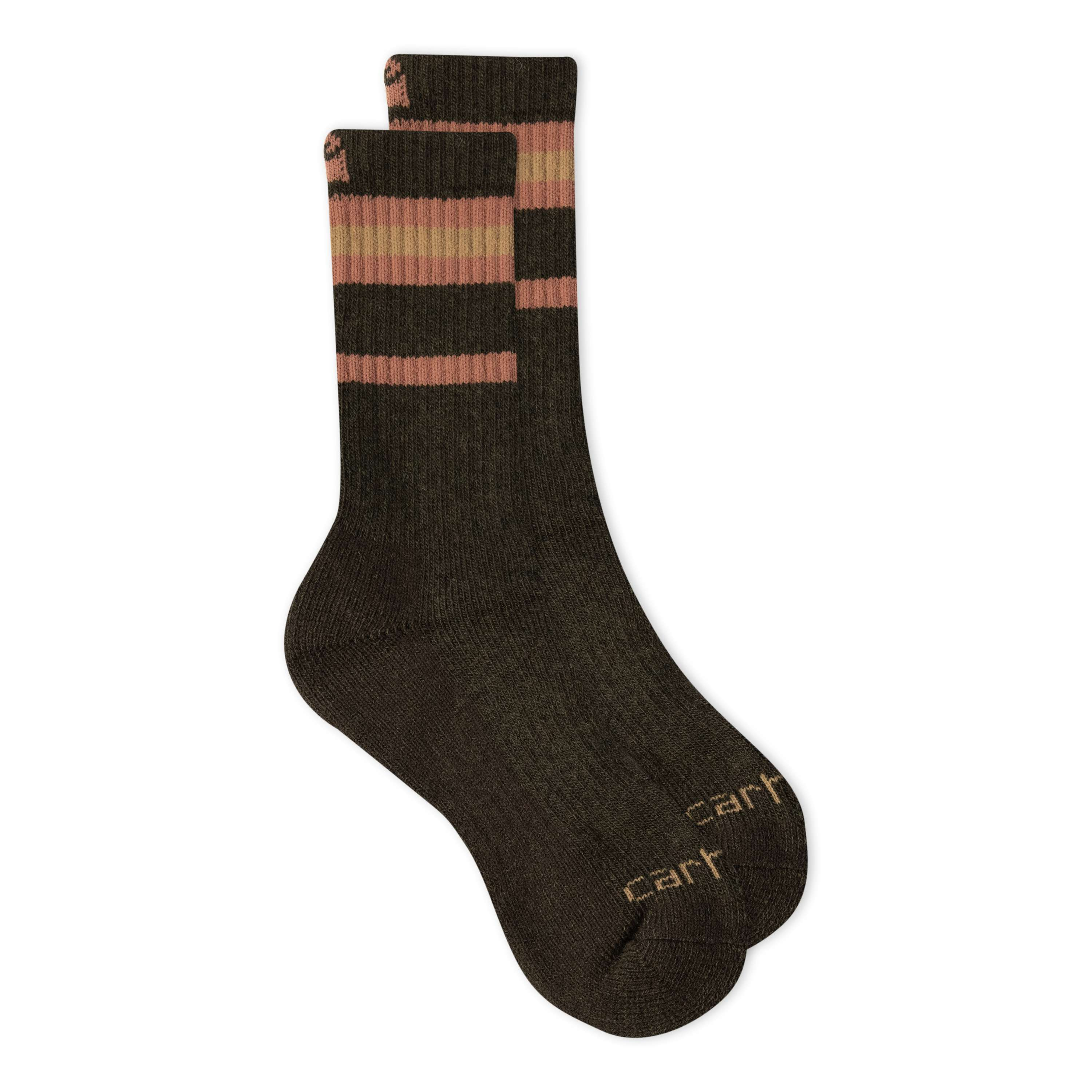 Carhartt Heavy Duty Thermal Crew Sock 2 Pack