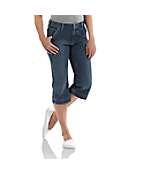 Women's Original-Fit Denim Cropped Pant
