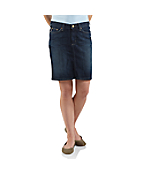 Women's Original-Fit Denim Skirt
