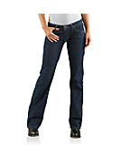 Women's Straight-Fit Basic Jean � Boot Cut