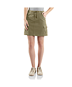 Women's Drawstring Cargo Skirt